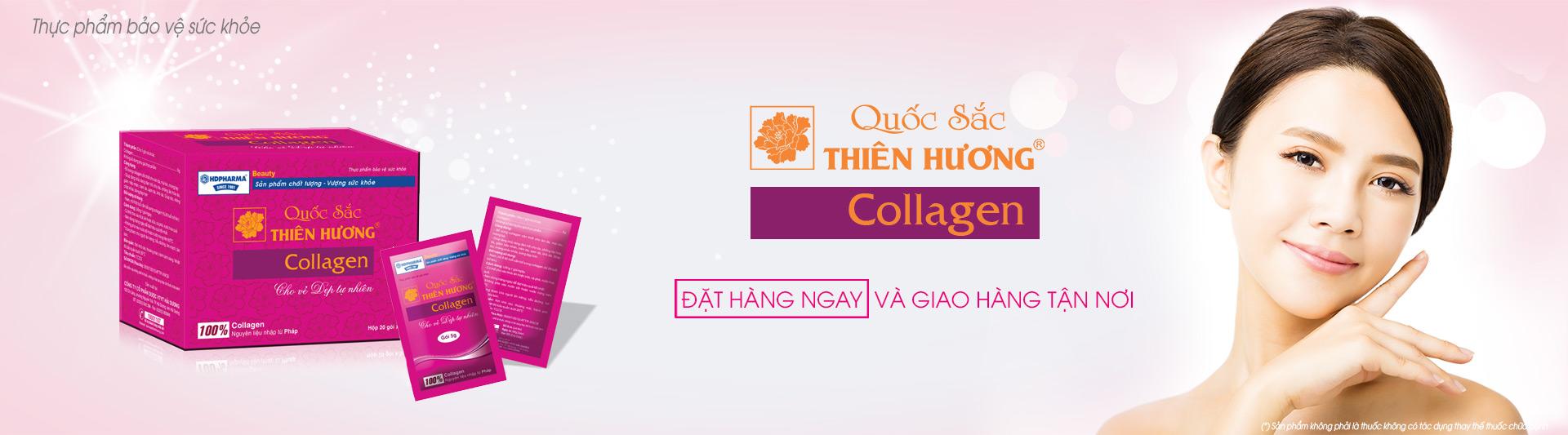 Gói uống Collagen Quốc Sắc Thiên Hương