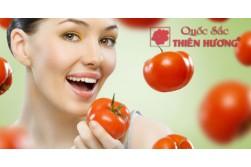 Loại bỏ nếp nhăn trên da hiệu quả với cà chua