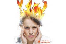 Lý giải tình trạng bốc hỏa ở phụ nữ thời kỳ mãn kinh